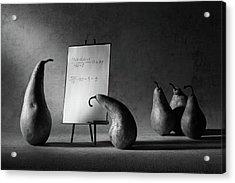 The F-mark Acrylic Print