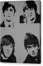 The Fab Four Acrylic Print
