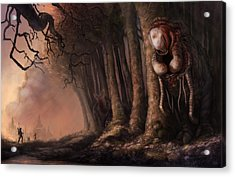 The Fabled Giant Women Of The Woods Acrylic Print by Ethan Harris