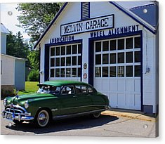 The Fabulous Hudson Hornet Acrylic Print