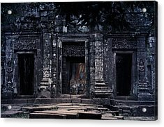 The Facade Of Sanctuary Acrylic Print