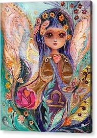 The Fairies Of Zodiac Series - Libra Acrylic Print by Elena Kotliarker