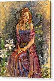 The Fairy Acrylic Print by Dominique Amendola