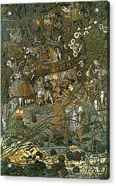 The Fairy Feller Master Stroke Acrylic Print by Richard Dadd