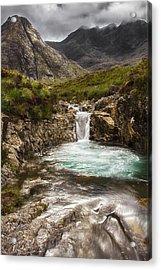 The Fairy Pools Isle Of Skye Acrylic Print