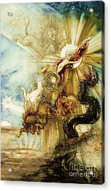 The Fall Of Phaethon Acrylic Print by Gustave Moreau