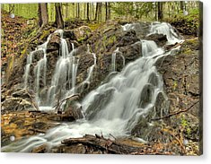 The Falls At Mackenzie King Estate Acrylic Print