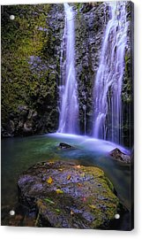 The Falls At Makamakaole Acrylic Print