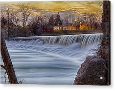 The Falls Of White River Acrylic Print