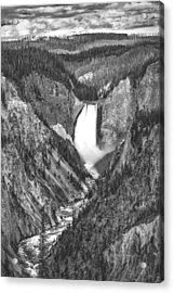 The Falls Power Acrylic Print by Jon Glaser