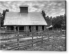 Acrylic Print featuring the photograph The Farm by Dawn Currie