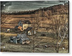 The Farmer In The Dell Acrylic Print