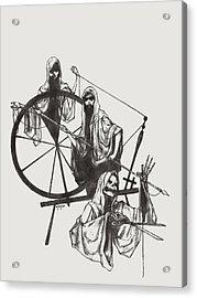 The Fates Acrylic Print by Amiri Bennett
