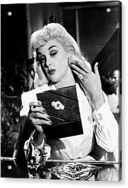 The Female Animal, Jan Sterling, 1958 Acrylic Print by Everett