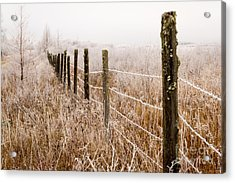 The Fence Still Stands Acrylic Print