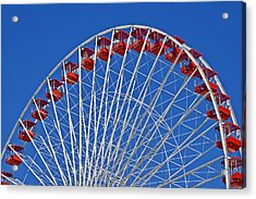 The Ferris Wheel Chicago Acrylic Print