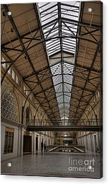 The Ferry Building Acrylic Print by David Bearden