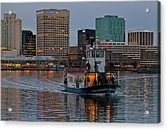 The Ferry To Portsmouth Acrylic Print