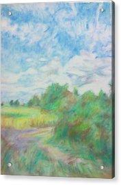 The Field Acrylic Print by Kim Cyprian