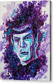 The Final Frontier Acrylic Print