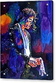The Final Performance - Michael Jackson Acrylic Print