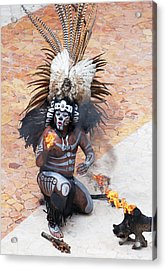 The Fire Keeper Acrylic Print