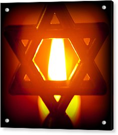 The Fire Within Acrylic Print by Tikvah's Hope