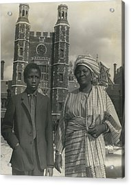 The First African Arrives At Eton. Acrylic Print by Retro Images Archive
