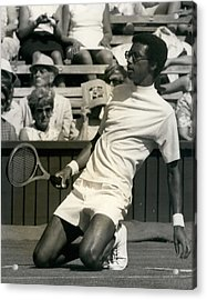 The First Dai Of The Wimbeddon Tennis Tournament Arthur Acrylic Print by Retro Images Archive