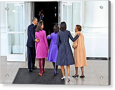 The First Family Acrylic Print by Douglas Adams