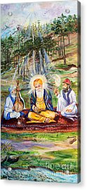 The First Guru Acrylic Print