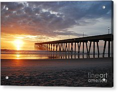 The First Sunrise Acrylic Print