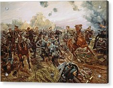 The First Vc Of The European War, 1914 Acrylic Print
