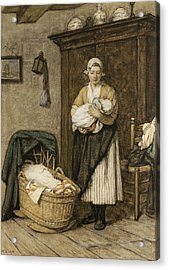 The Firstborn, 1875 Acrylic Print