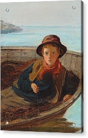 The Fisher Boy Acrylic Print by William McTaggart