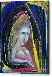 The Fisherman's Wife Acrylic Print by Kicking Bear  Productions