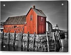 The Fishing Shack Acrylic Print