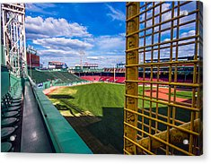 The Fisk Pole Acrylic Print by Tom Gort