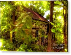 The Fixer-upper Acrylic Print by Lois Bryan