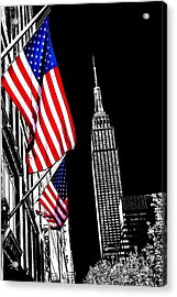 The Flag That Built An Empire Acrylic Print