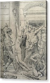 The Flagellation Of Christ Acrylic Print