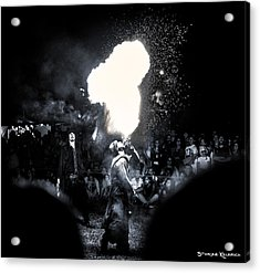 Acrylic Print featuring the photograph The Flare Thrower by Stwayne Keubrick