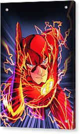 The Flash Acrylic Print by FHT Designs