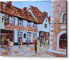 The Fleur De Lyse In St Albans Acrylic Print