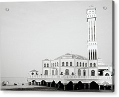 The Floating Mosque Acrylic Print