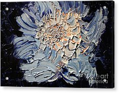 The Flower I Never Sent Acrylic Print by Michael Kulick