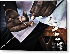 The Flower Maker Acrylic Print by Soren Egeberg