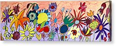 The Flowers Ran Away Acrylic Print