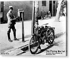 The Flying Merkel 1910 Acrylic Print