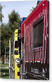 The Food Truck Acrylic Print
